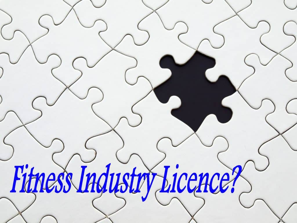 Fitness Industry Licence