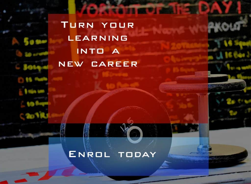 turn your learning into a new career - fitness courses